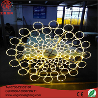 Christmas Holiday Decoration Light 2D Motif Street Light Zhongshan
