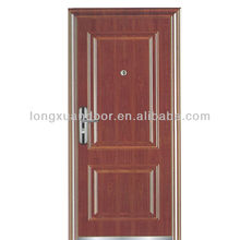 3 hours fire rated wood door make in china with BS & GB standard