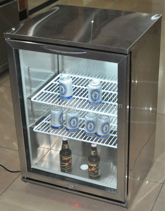beverage chiller/mini fridge cooler/beer display cabinet/small showcases refrigeration/2016 new products