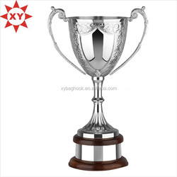 Factory directly wholesale silver trophies for sports