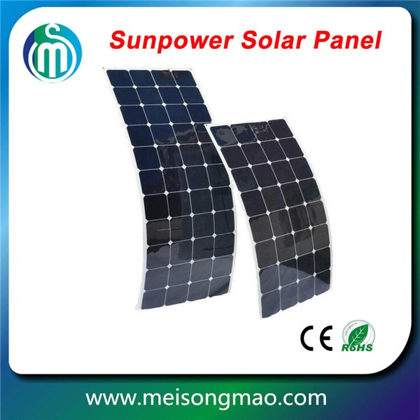 High efficiency 12V solar panel 250W monocrystalline silicon flexible solar panels for apartments