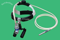 4x surgical microsurgery loupes with headlight
