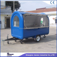 Shanghai JX-FR280B Prefab Food Caravan House/Mobile Food Travel Trailer Caravan