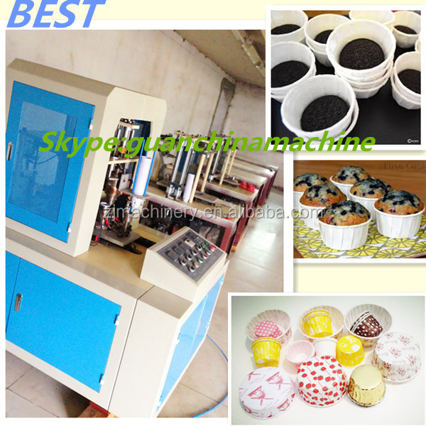 High quality curling top cake machine