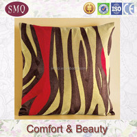 beautiful design backrest cushion cover embroidered pillow cover
