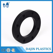 Customized PE pipe fittings flange Butt joint connection for large diameter hdpe pipes
