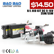 2014 Promotion DC / AC 35W Slim HID Conversion Kit,Bi HID xenon kit H4,Bi xenon HId --BAOBAO LIGHTING Factory directly wholesell
