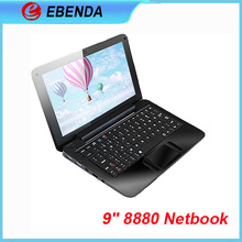 "Low price mini laptop 9"" VIA 8880 Dual-Core android4.2 in China"