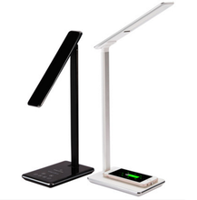 Wholesale D102 Led Desk Lamp Qi Standard Wireless Charger Table Lamp Touch Control