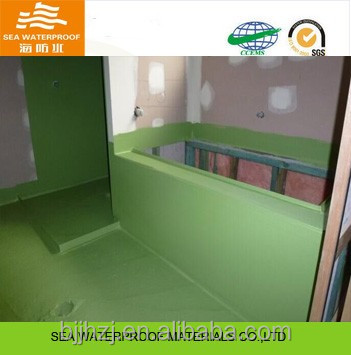 Colored polyurethane membrane waterproofing from manufacturer