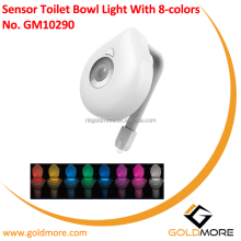 Colorful Motion Sensor Toilet Nightlight ,Oenbopo Home Toilet Bathroom Human Body Auto Motion Activated Sensor Seat Light Night