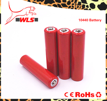 High Drain 10440 3.7V 350mAh Rechargeable Li-ion Battery for LED Flashlight