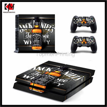 High quality console vinyl skin sticker for ps4 skin for sony playstation 4