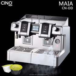 Italian semi professional espresso capsule pod coffee maker commercial coffee machine