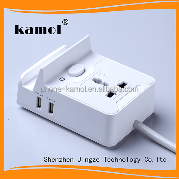 Power strip+ USB Charger Multi-Charging Station