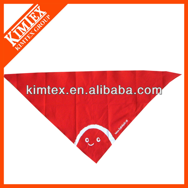 Fine brand cuatomized cheap cotton dog bandana