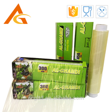 best price best fresh meat fruit pvc food cling film for packaging