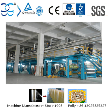 High Speed and Energy Saving Bopp Jumbo Roll Tape Mayer Bar Coating Machine