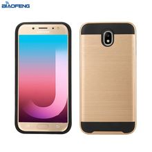 Hot Selling Wholesale Smartphone Cover Tpu Pc Brushed Mobile Case Covers Phone Case For Samsung Galaxy J7 Pro