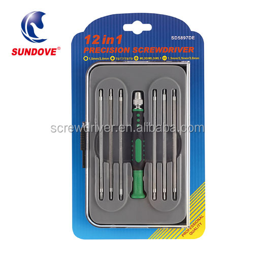 12 in 1 Smart Phone Screw Driver Hex Set Repair Kit Tools for Mobile