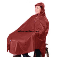 PV-047 Adult waterproof rain poncho for biker