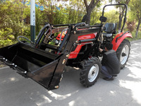 50hp Four Wheel Drive Compact Wheel Tractor Big Farm Tractor