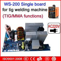 Circuit board of WS 250 tig/mma welding machine , AC220V single board designed