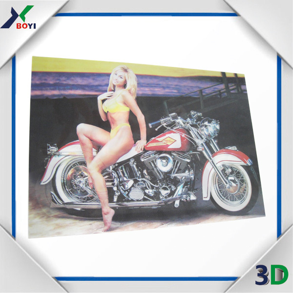Business Promotion Nude Picture 3D Lenticular Sexy Girl Poster
