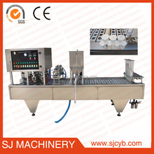Factory price linear cold drinking Filling/yogurt cup filling sealing machine made in China