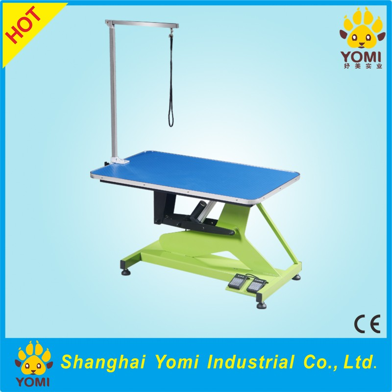 China YM-DD-002 electric light weight dog grooming table