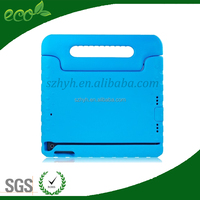 best sell Safe Shockproof Standing kid friendly case for iPad Mini 1/2/3,non-toxic EVA foam material Shockproof TABLET PC COVER