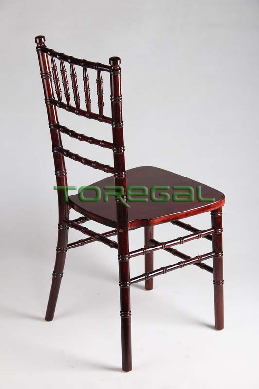 High Quality Solid Wood Ballroom Chiavari chair in Yellow