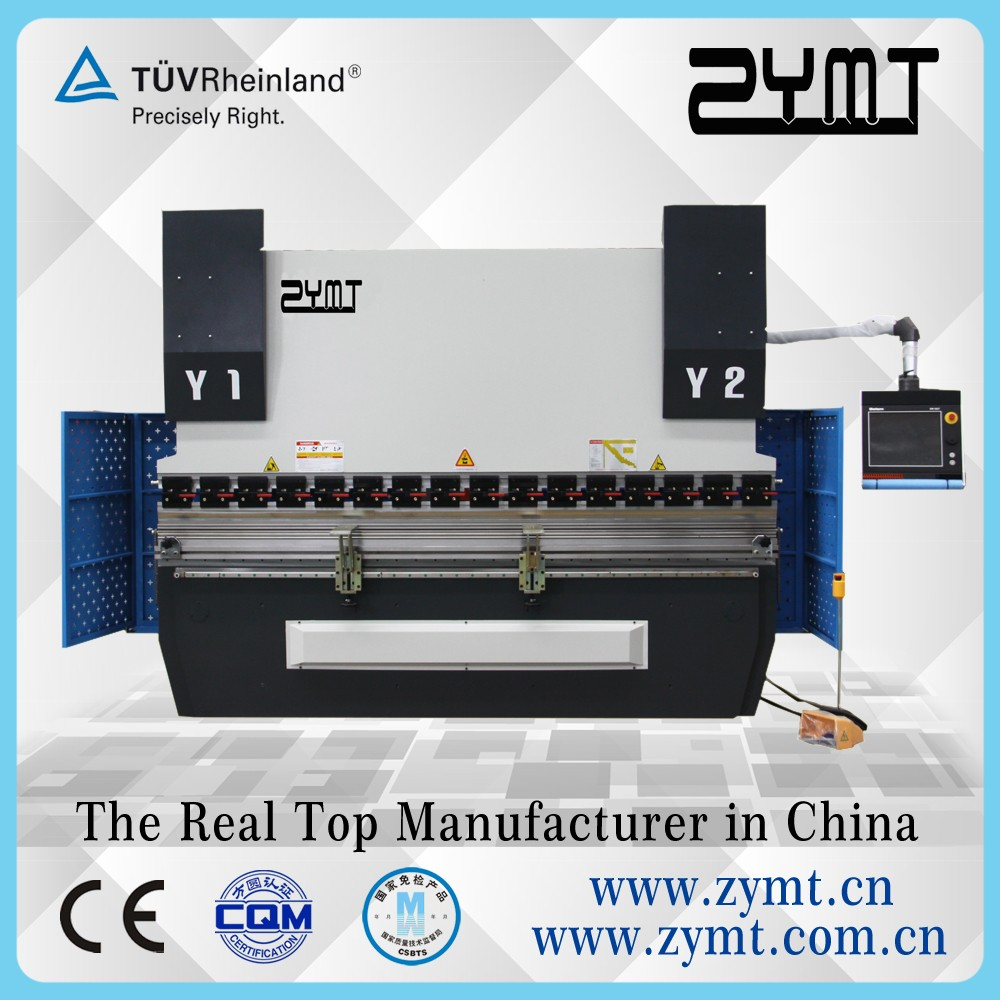 ZYMT Brand 3+1 axis CNC press brake,hydraulic bending machine direct