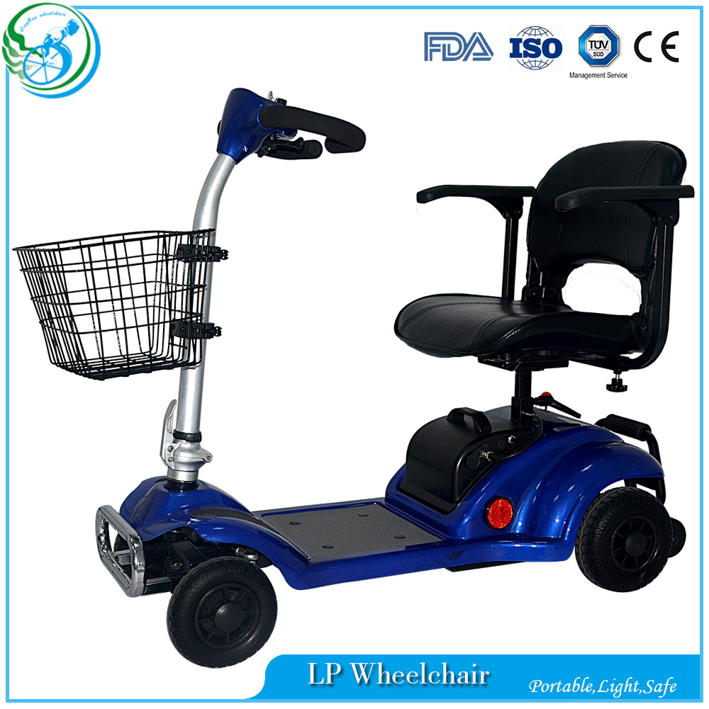Outdoor disabled elderly electric folding mobility scooter for Motorized scooters for elderly