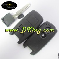 Wholesale price 2 buttons swift smart key shell withe mergency key without logo for suzuki key