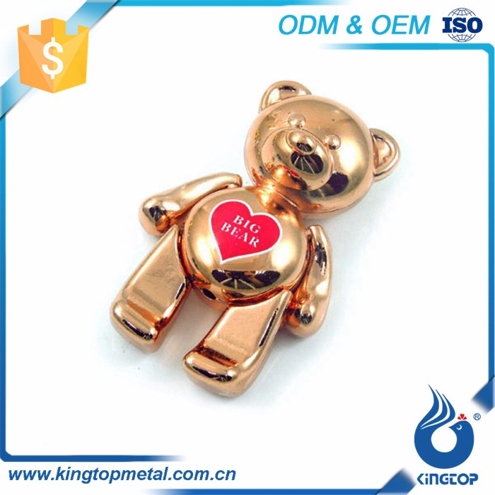 Zinc Alloy Travel Souvenir Bear Metal Keychain Buy Bulk Fridge Magnet Magnetic