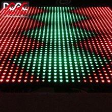 Customizable bar trade show 8x8 12x12 15x15 led pixel panel animation dance floor