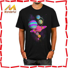 custom LED printing shirts cheap blank t shirt printed/sound activated custom led t shirt