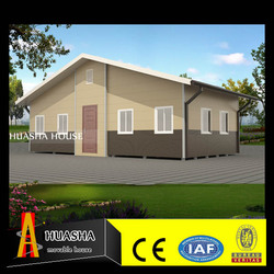 China home decor steel material prefab luxury house
