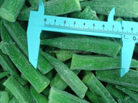 2017 Top grade IQF vegetables frozen baby okra
