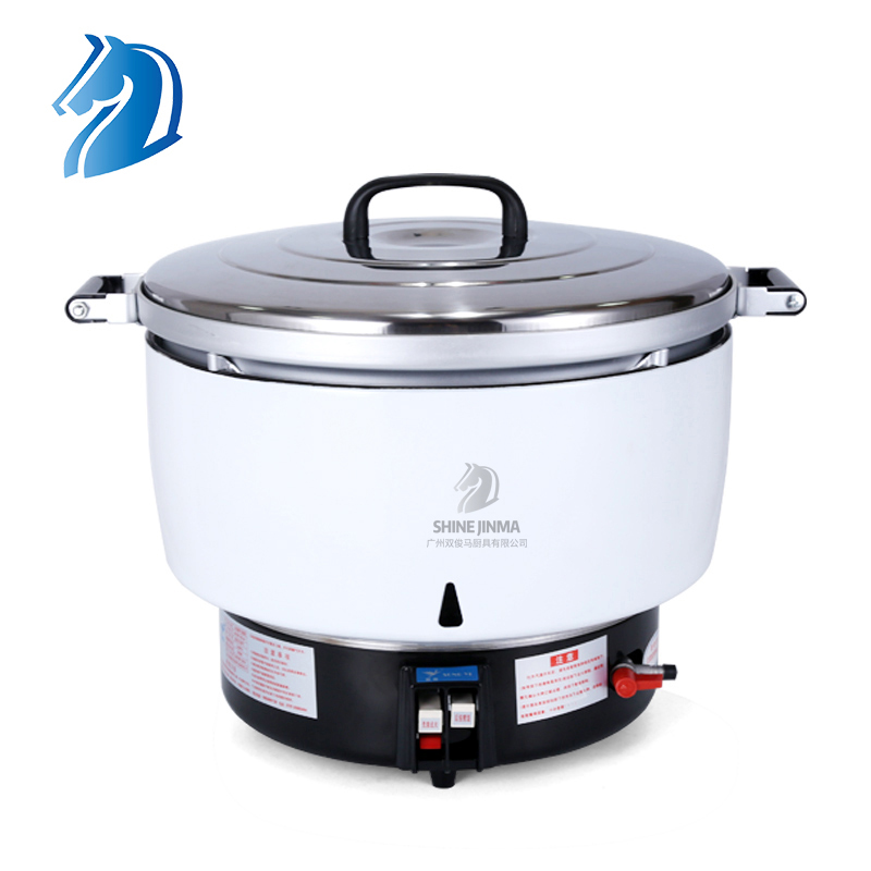 Zhuoliang 7L 10L 15L 23L 30L Simple Operation Large Capacity Commercial Gas Rice Cooker