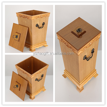 Most Popular Resistant Special Handmade Wooden Dustbin