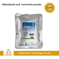 China Advanced Veterinary Pharmaceutical Companies Albendazole and Ivermectin Powder