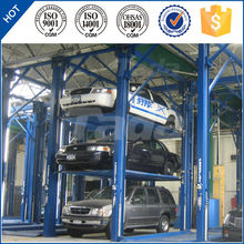 Three Layers Automatic Smart Car Parking Lift Parking System