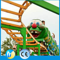 LED light ride on toy game cheap roller coaster