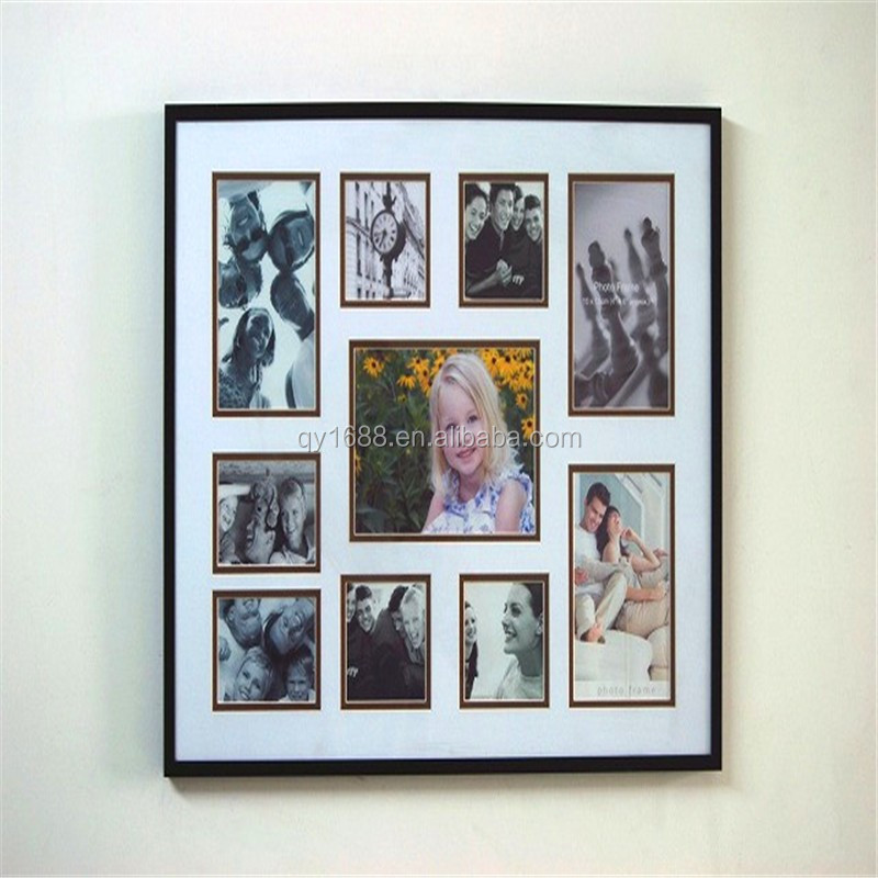 wall photo frame/multi photo wall frame/wall hanging photo frames