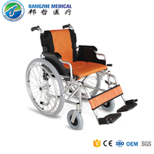 Aluminum heavy duty power wheelchair with PU caster and quick release wheel