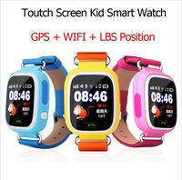 Brand new one way cellphone 2015 children smart watch phone kids tracking gps watch gps wifi multifunction smart watch