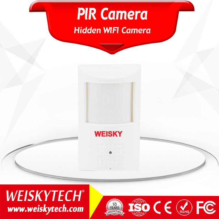 Weisky 2017 PIR AHD/IP/WIFI SPY CAMERA Type Spy Mini Camera 4mm Pinhole Lens 720P AHD Pinhole Hidden Camera CCTV Camera Hot Sale