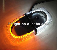 Super Bright White and amber 240-LED Snow Plow Strobe Warning Emergency Flashing Light